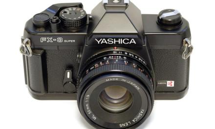 La mia prima reflex: Yashica FX3 Super