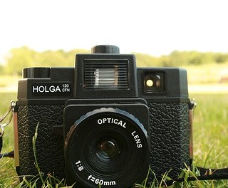 Unboxing Holga 120GCFN by Lomography