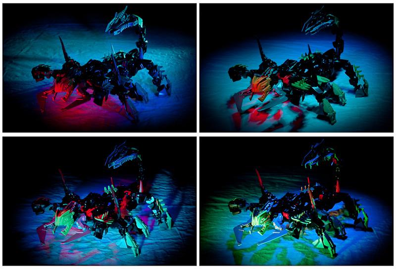 Scorpion - LEGo e light-painting