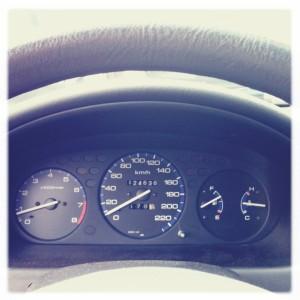 Fermi! - Honda Civic cruscotto