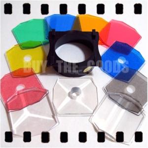 HOLGA 11P Colour Color Filter Set