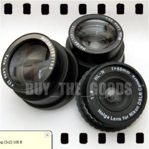 HOLGA HL-N Lens w/ WIDE TELE for NIKON DSLR