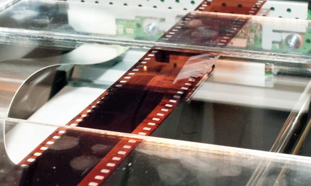 Scansionare una striscia di pellicola