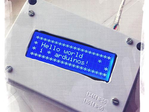 Arduino in box