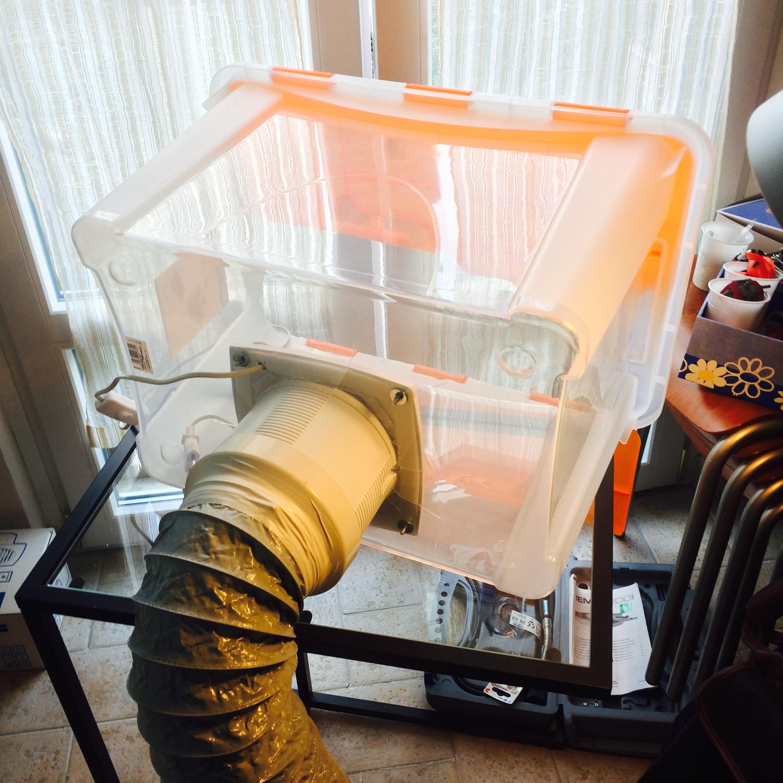 Camera di aspirazione per verniciatura spray booth - Fai da te camera ...