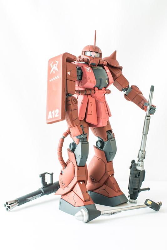 Zaku II MS-06S Gunpla Bandai