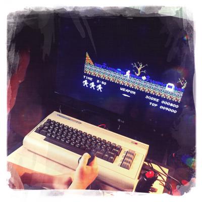 SD2IEC su Commodore 64