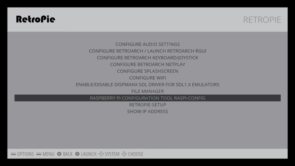 RETROPIE: configurazione di Emulation Station