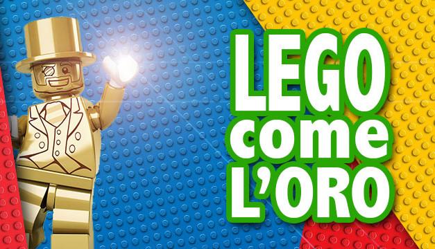 LEGO come l'oro