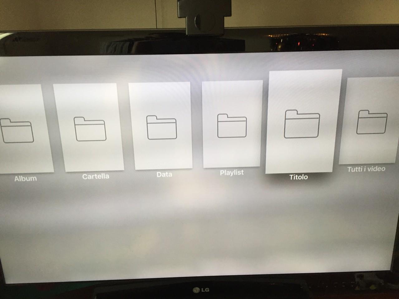 Infuse 4 PRO su Applet TV 4