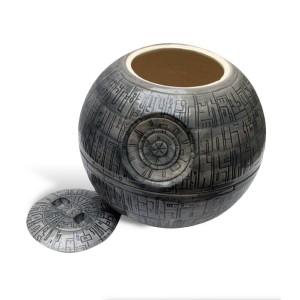 Zeon - Biscottiera in ceramica con la forma della stazione spaziale la Morte Nera