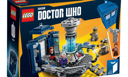 LEGO Doctor Who 21304 time-lapse