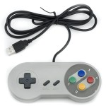 Qumox SNES gioco PC GamePad controllore SFC per Windows PC USB Super Famicom