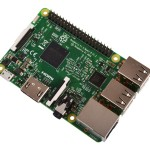 Raspberry Pi 3 Model B Desktop (Quad Core CPU 1.2 GHz, 1 GB RAM, Linux)