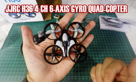 JJRC H36 4 CH 6-AXIS GYRO QUAD-COPTER: unboxing