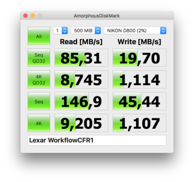 Lexar Scheda Professional 800x 32GB CompactFlash