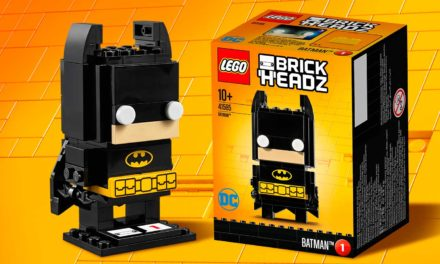 LEGO BrickHeadz 41585 Batman time-lapse