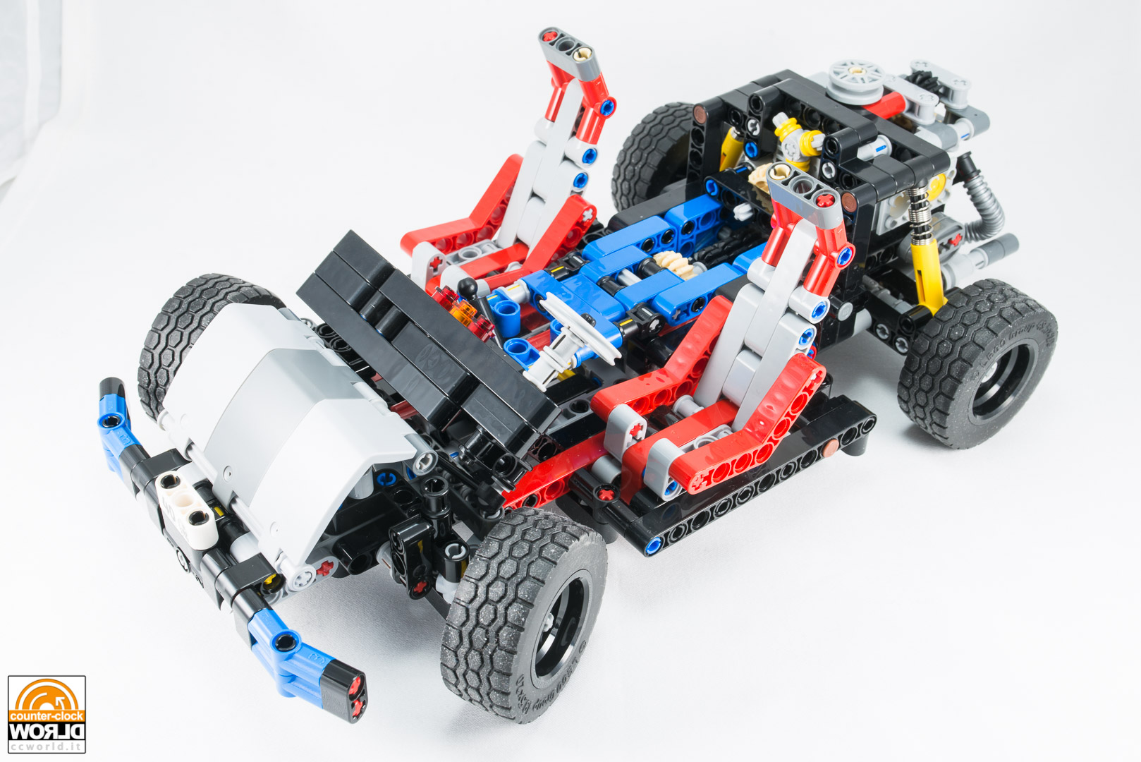 lego technic car chassis 2017 counter clock world. Black Bedroom Furniture Sets. Home Design Ideas