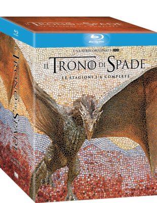 Trono di Spade Stagioni 1 - 6 (27 Blu-Ray)