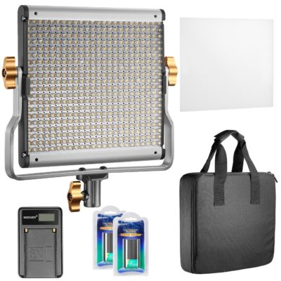 Neewer Pannello Luce LED Dimmerabile
