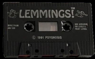 Lemmings Spectrum cassette